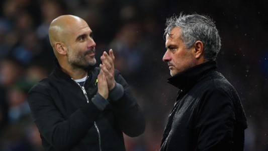 Pep Guardiola, Jose Mourinho