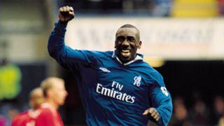 Jimmy Floyd Hasselbaink Chelsea 2001
