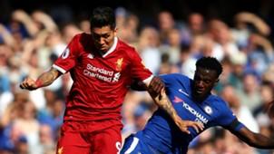 Roberto Firmino Liverpool Antonio Rudiger Chelsea