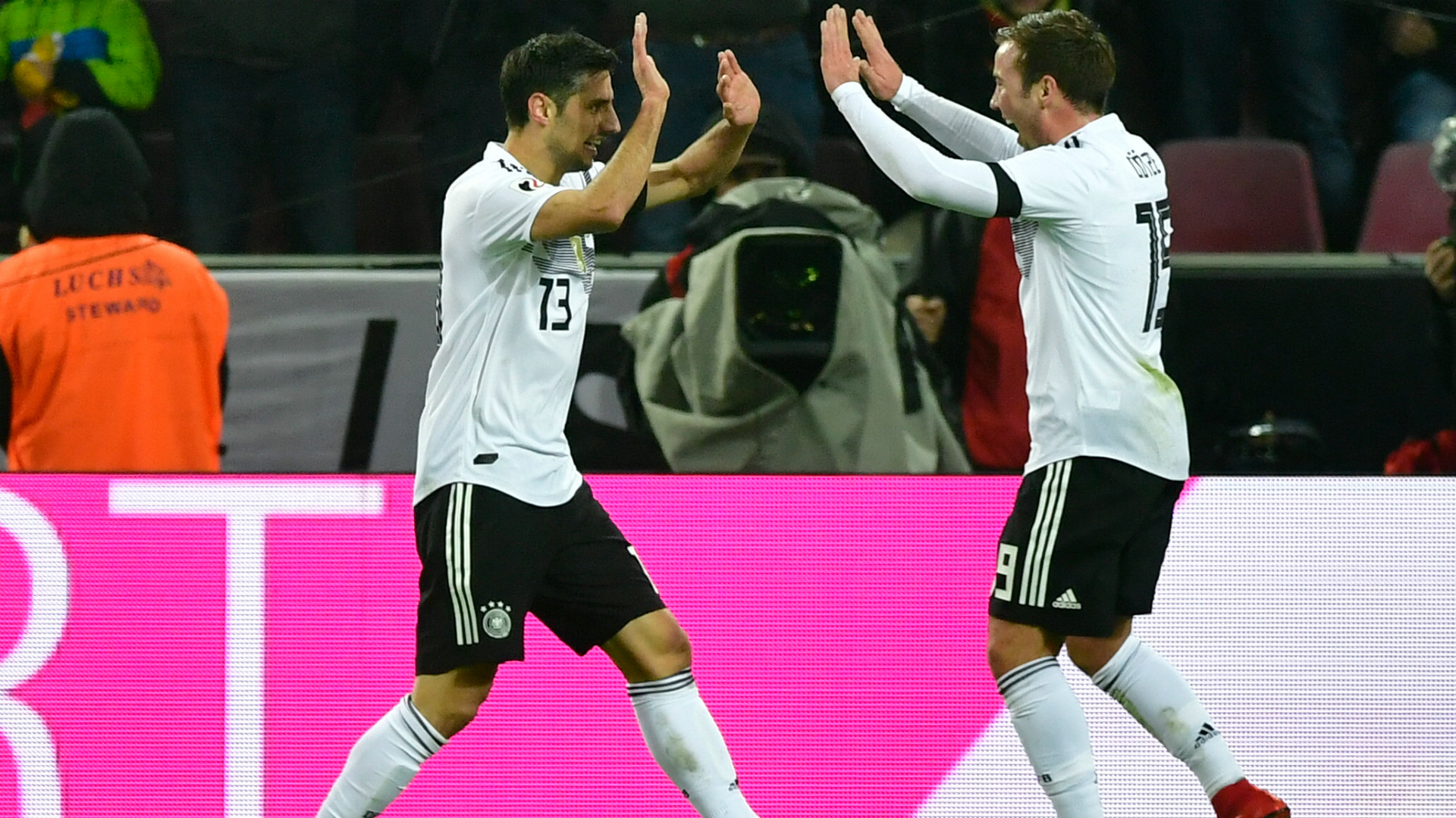 Mario Götze Lars Stindl Germany 14112017