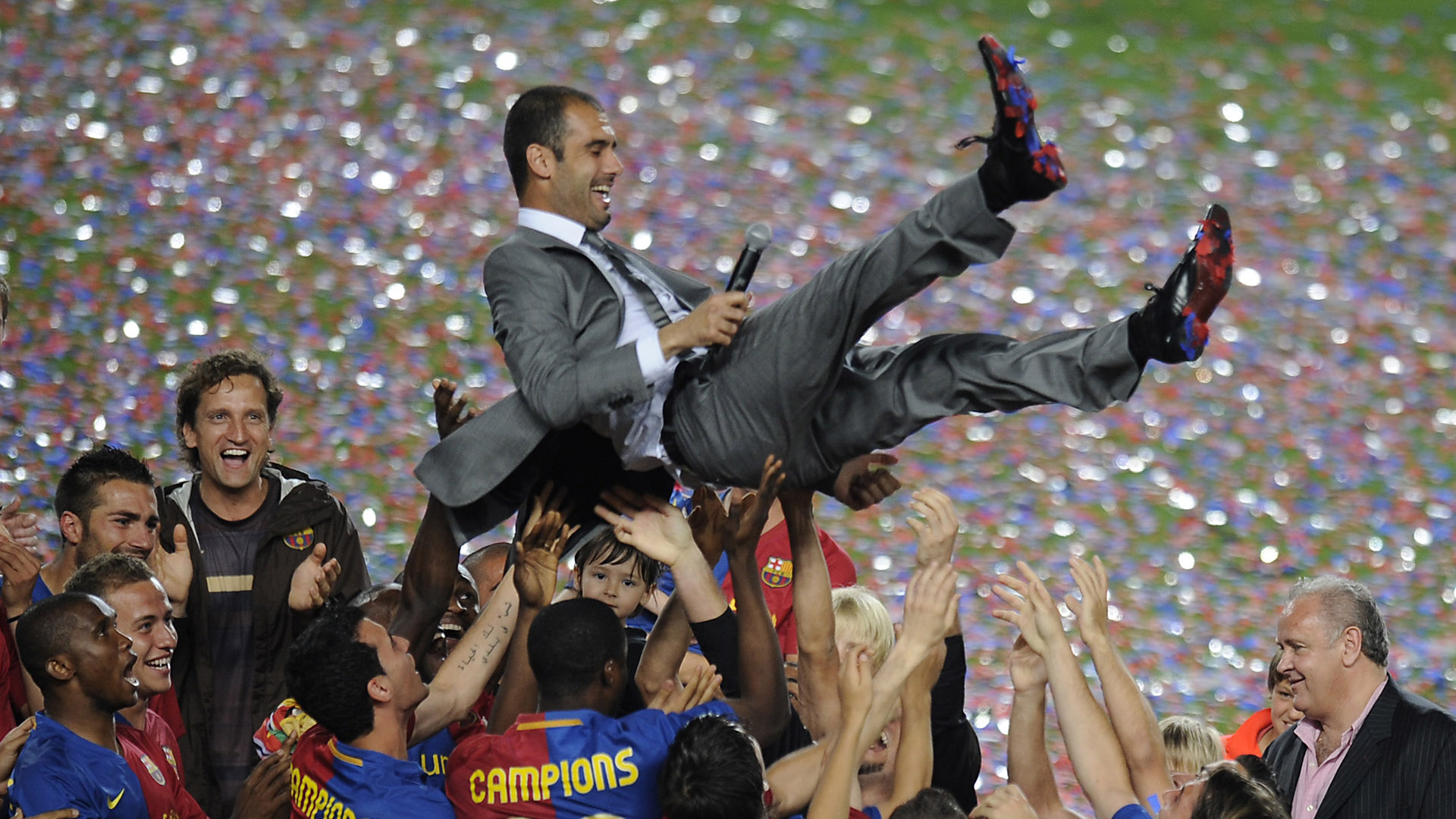 Pep Guardiola Barcelona Champions League