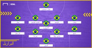 Brazil Probable XI WC 2018