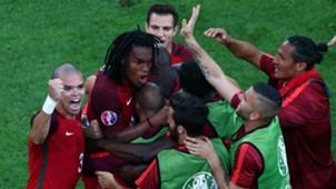 Renato Sanches goal Portugal Poland Euro 2016