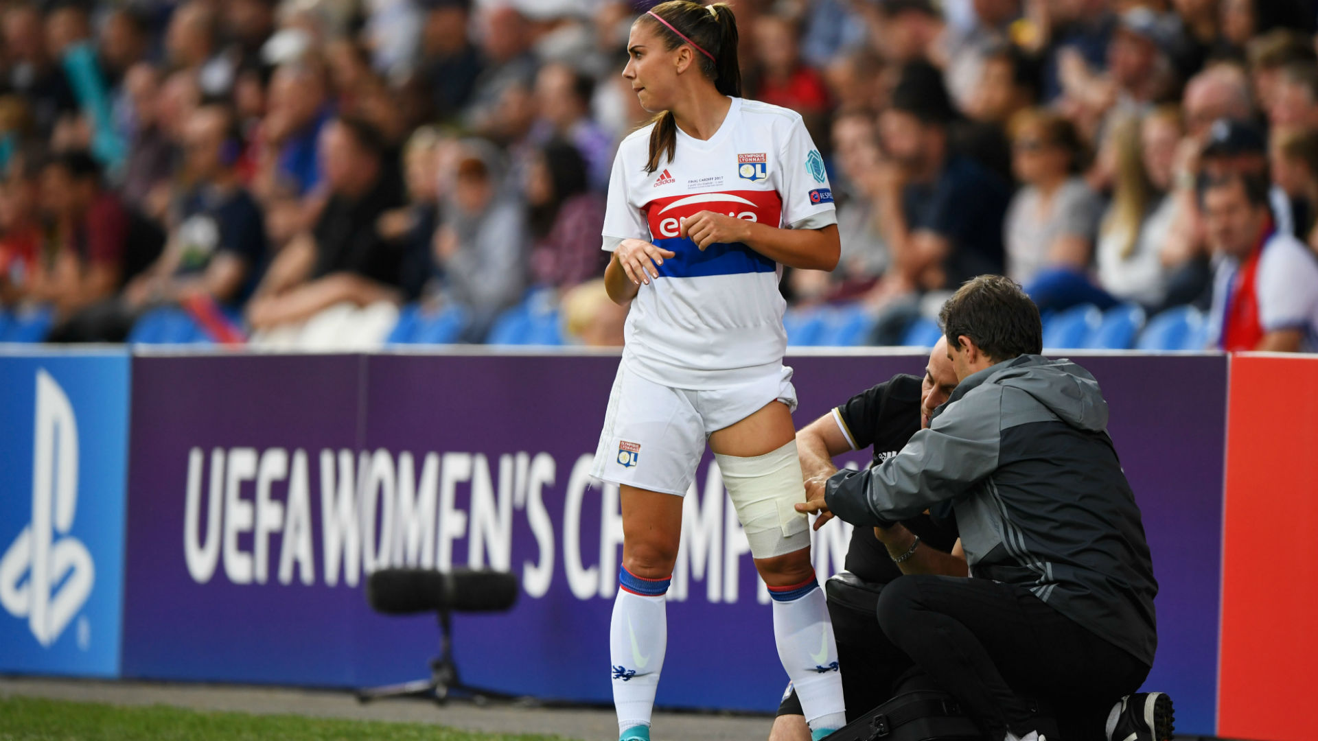 Alex Morgan Lyon PSG Women Champions League 01062017