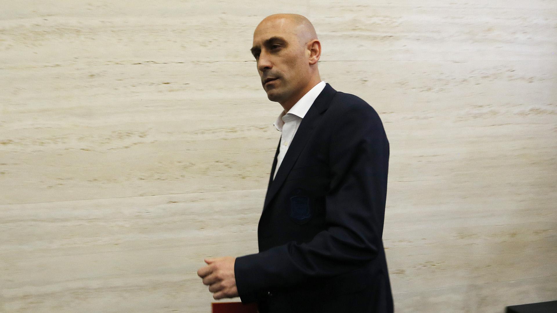 Luis Rubiales Spanischer Verband 2018