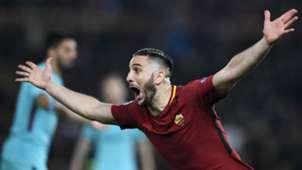 Kostas Manolas Roma Barcelona Uefa Champions League 10042018