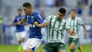 Thiago Neves Egídio  Cruzeiro Palmeiras Brasileirão 09 07 2017