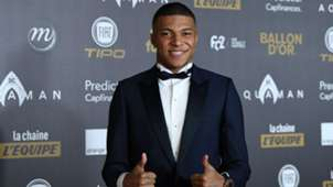 Kylian Mbappe Ballon d'Or Paris 03122018