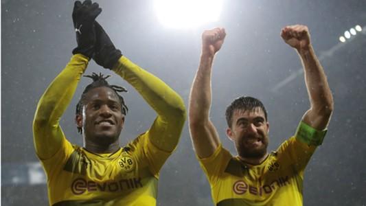 Michy Batshuayi Sokratis Papastathopoulos Borussia Dortmund Atalanta Europa League