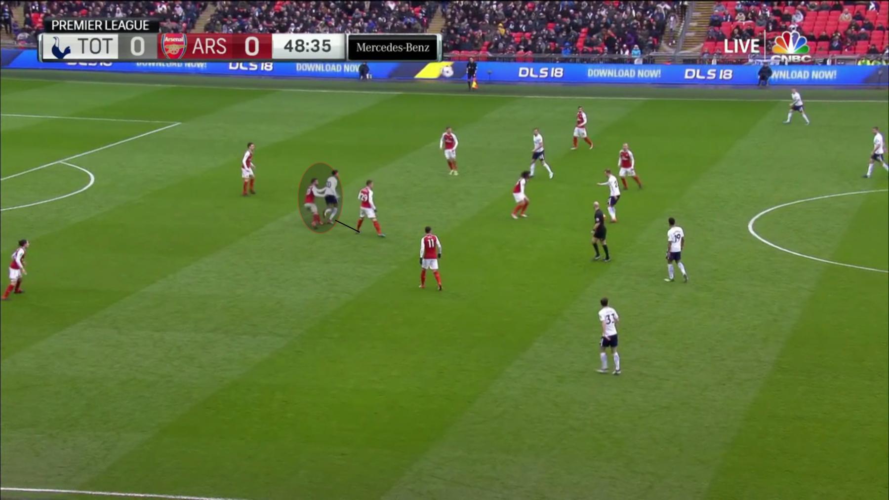 Arsenal Spurs 8.