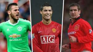 David de Gea Cristiano Ronaldo Eric Cantona Manchester United Split