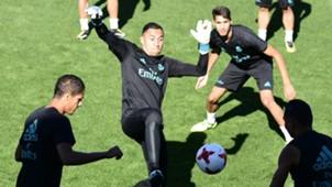 Keylor Navas Real Madrid training session