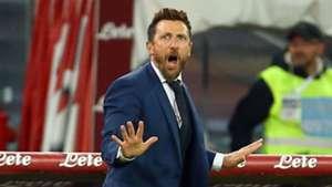 Eusebio Di Francesco Napoli Roma Serie A