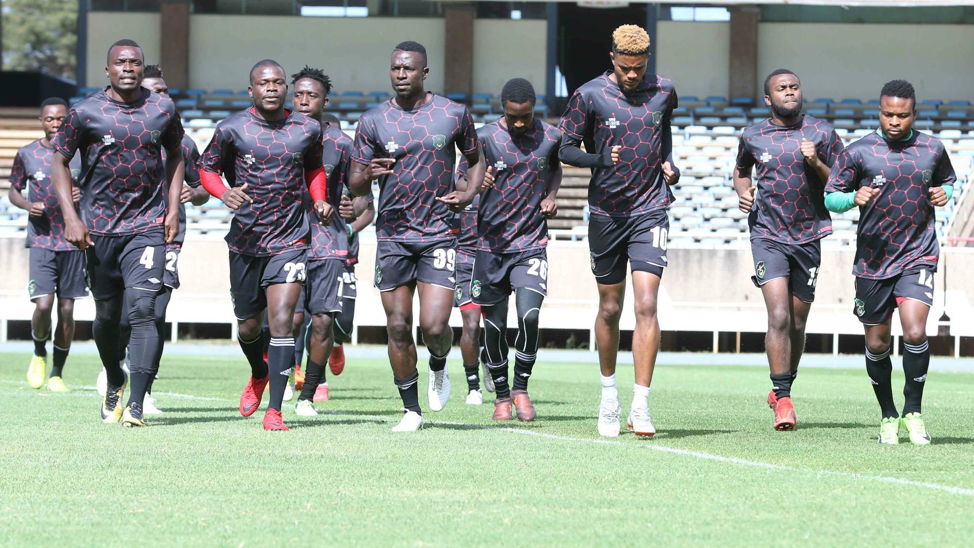 Malawi training to face Kenya at Kasarani.j