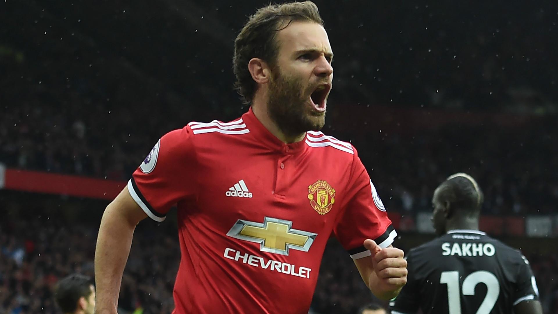 Juan Mata Manchester United 30092017