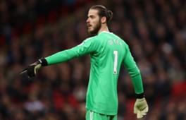Man United - Huddersfield De Gea
