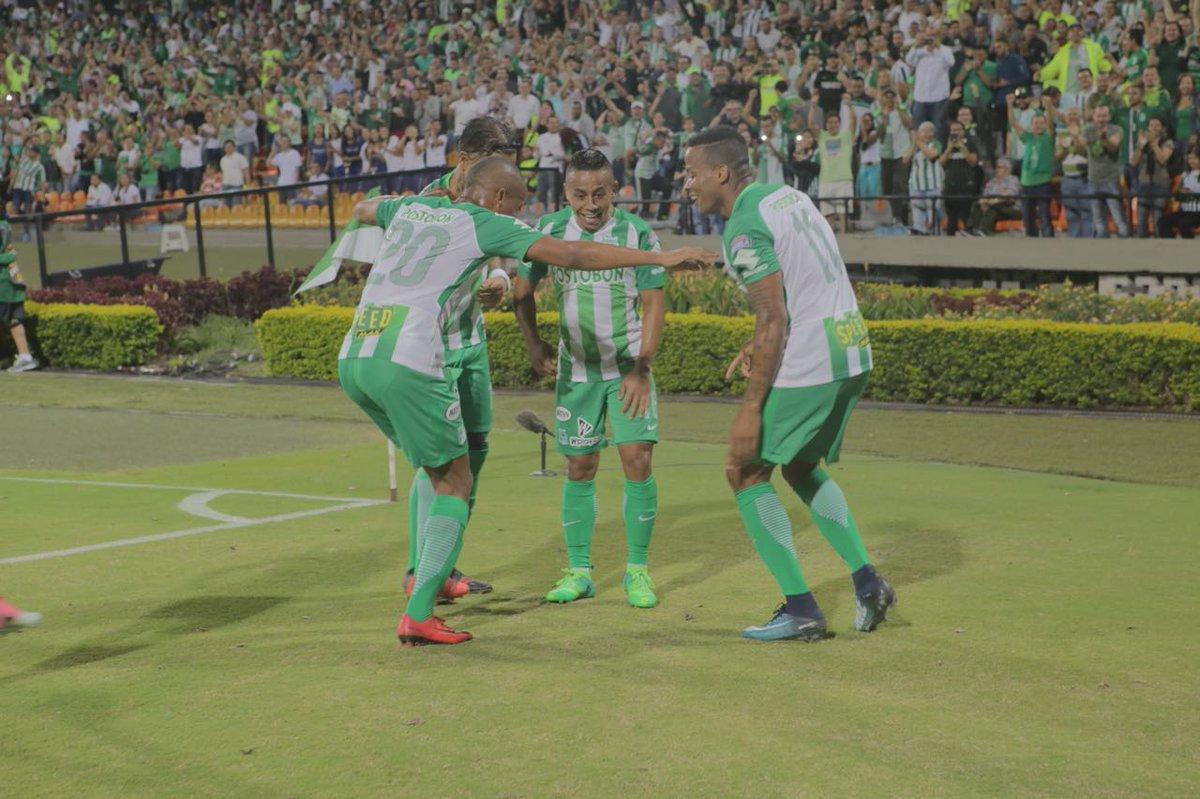 Atlético Nacional venció 1-0 a Independiente Santa Fe