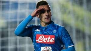 Arkadiusz Milik Atalanta Napoli Serie A