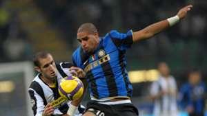 Adriano Inter Mailand 2008