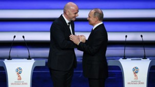 Gianni Infantino Vladimir Putin World Cup