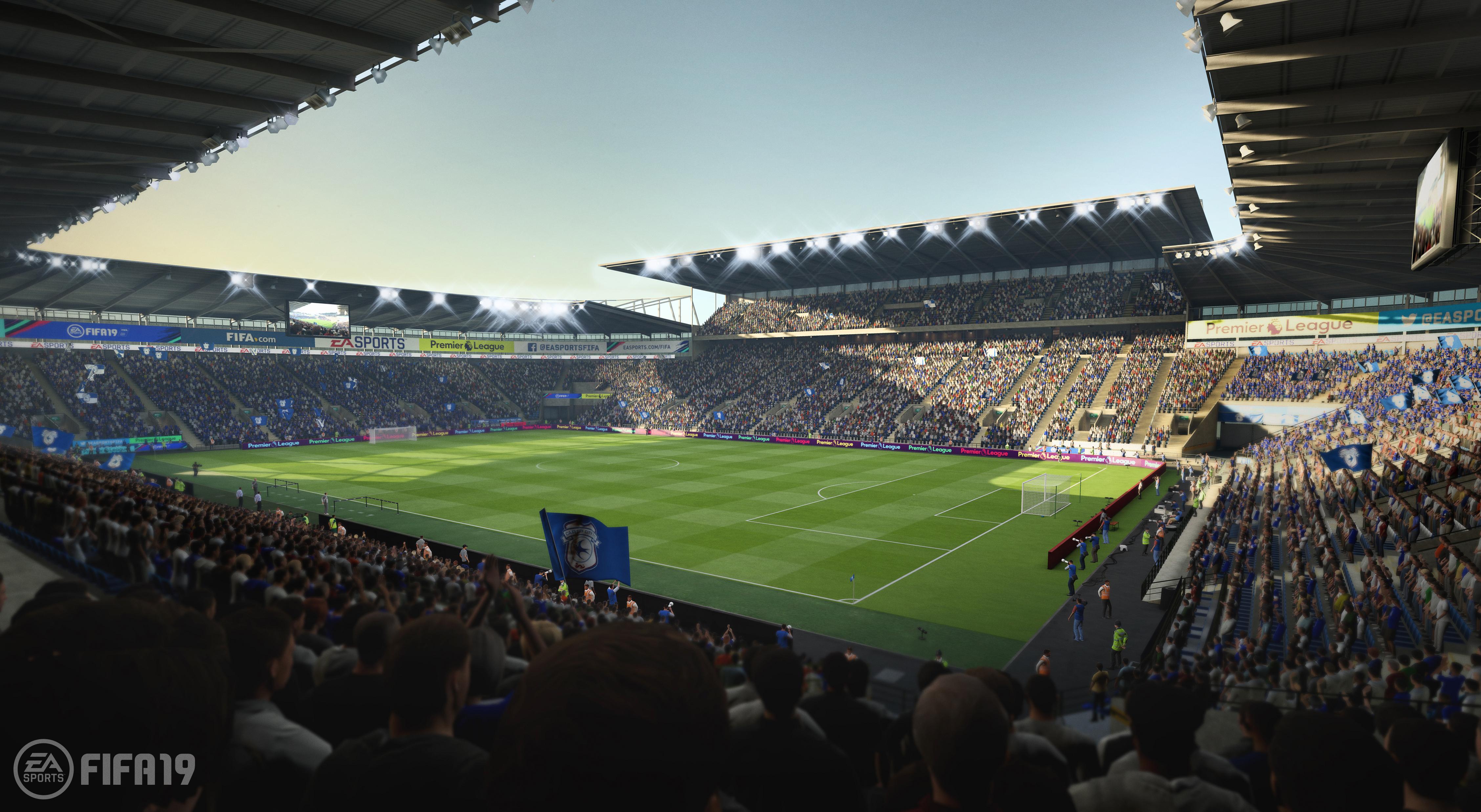 Image result for เปิดตัวสนามใหม่สเปอร์สลง FIFA19