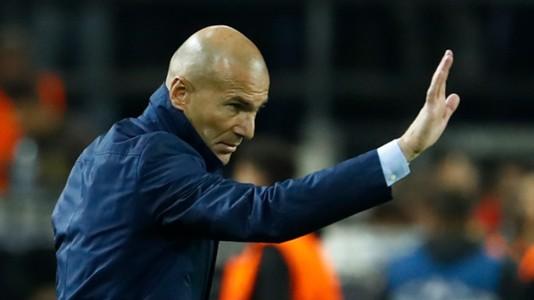 Zinedine Zidane Borussia Dortmund Real Madrid UCL 26092017