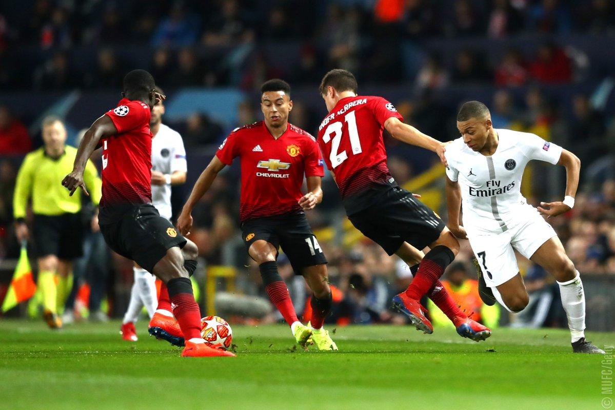 Manchester United vs. PSG