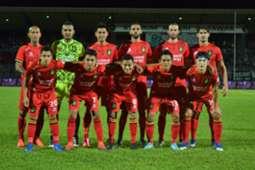 Sarawak's first XI against Melaka United 18/2/2017