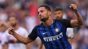 Danilo D'Ambrosio, Inter, Serie A, 24092017
