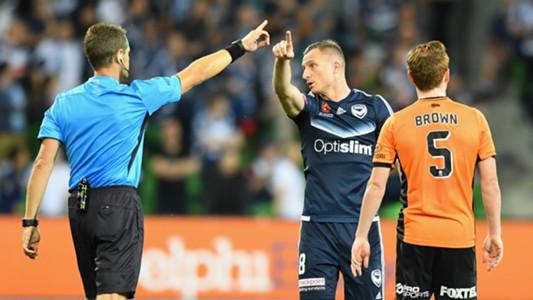 Besart Berisha Melbourne Victory v Brisbane Roar A-League 13012017