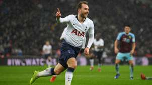 Christian Eriksen Tottenham Hotspur Burnley 18/19