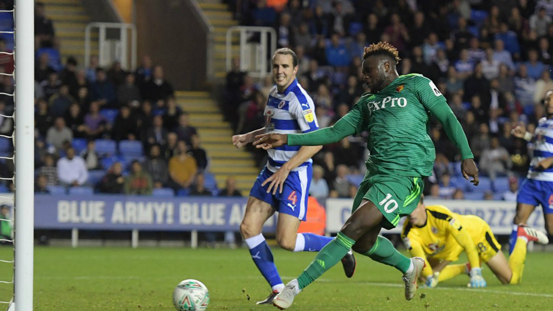 Isaac Success - Reading vs. Watford, League Cup