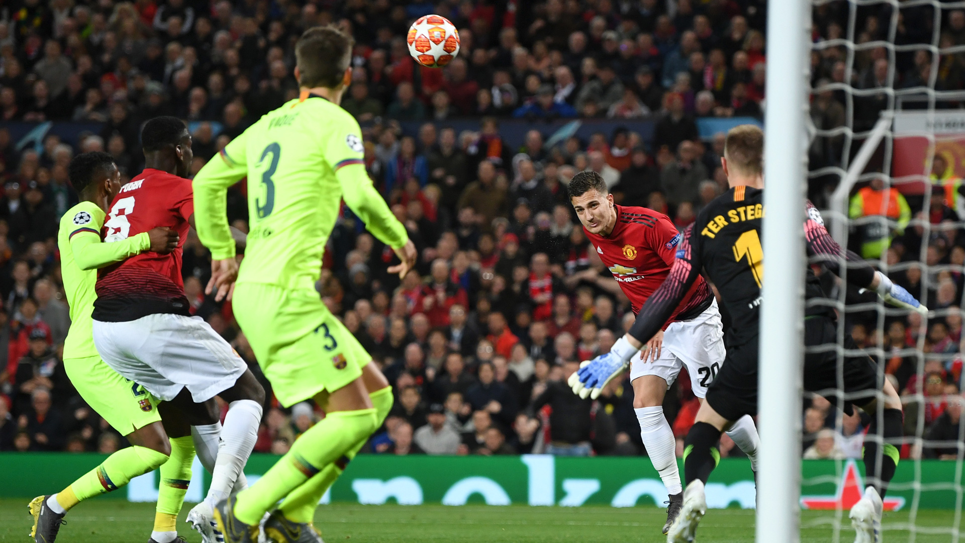 Manchester United Barcelona 0419