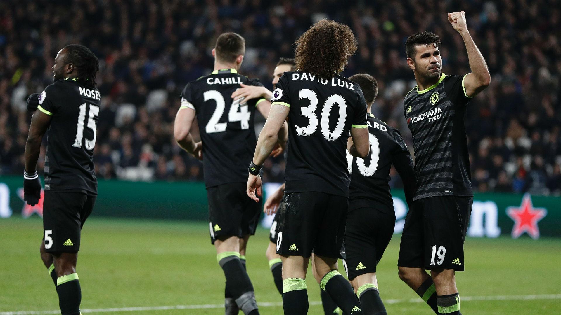Chelsea West Ham Diego Costa