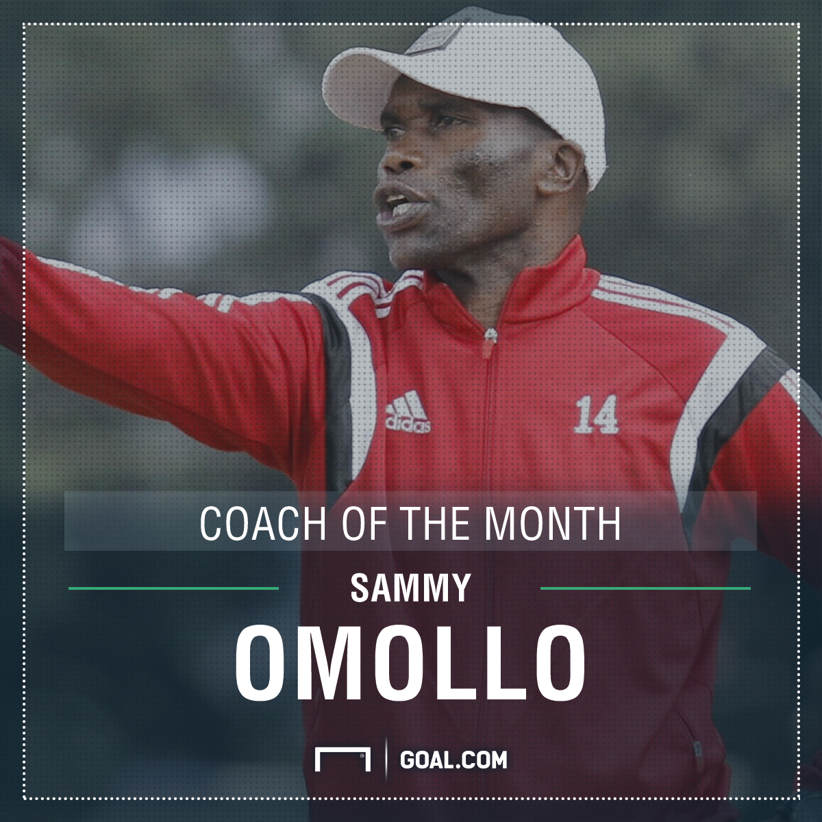 Pamzo coach of the month for April PS
