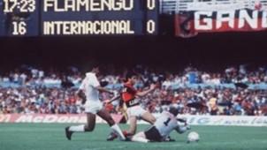 Flamengo Internacional Bebeto Brasileiro 1987