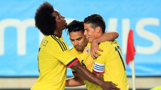 Carlos Sanchez Falcao James Spain Colombia Friendly 07062017