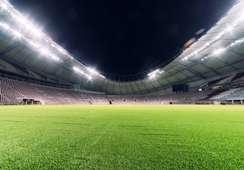 Khalifa Stadium interior Launch