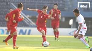 Văn Toàn, U23 Việt Nam vs U23 Myanmar, M-150 Cup