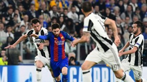Mandzukic Messi Juventus Barcelona Champions League 11 04 2017