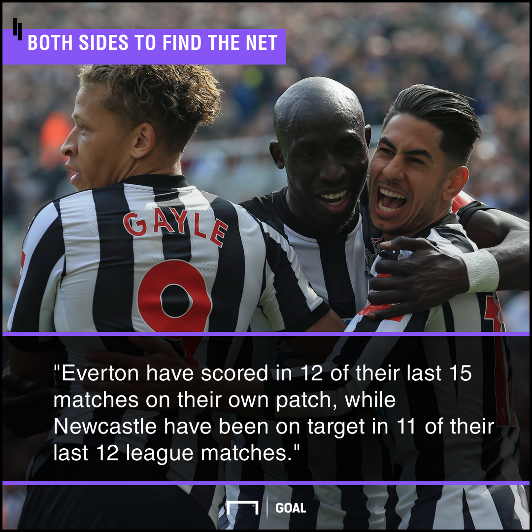 Everton Newcastle graphic