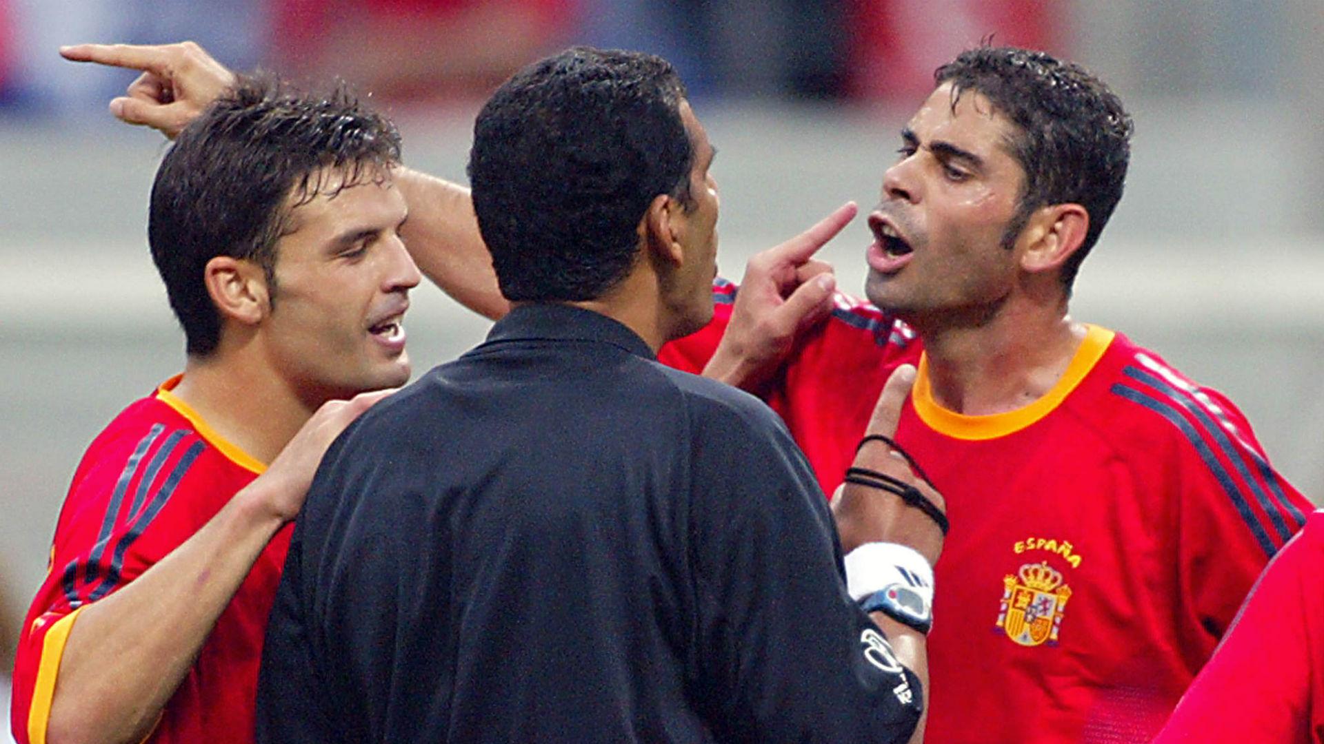 Morientes Fernando Hierro Espanha Copa do Mundo 2002 29 06 2018