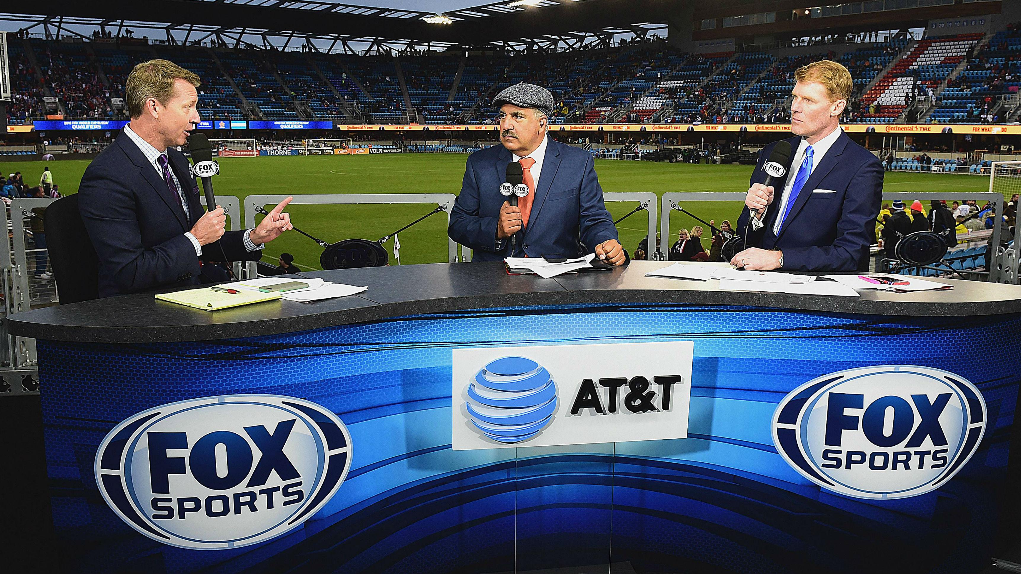 Fox Sports set
