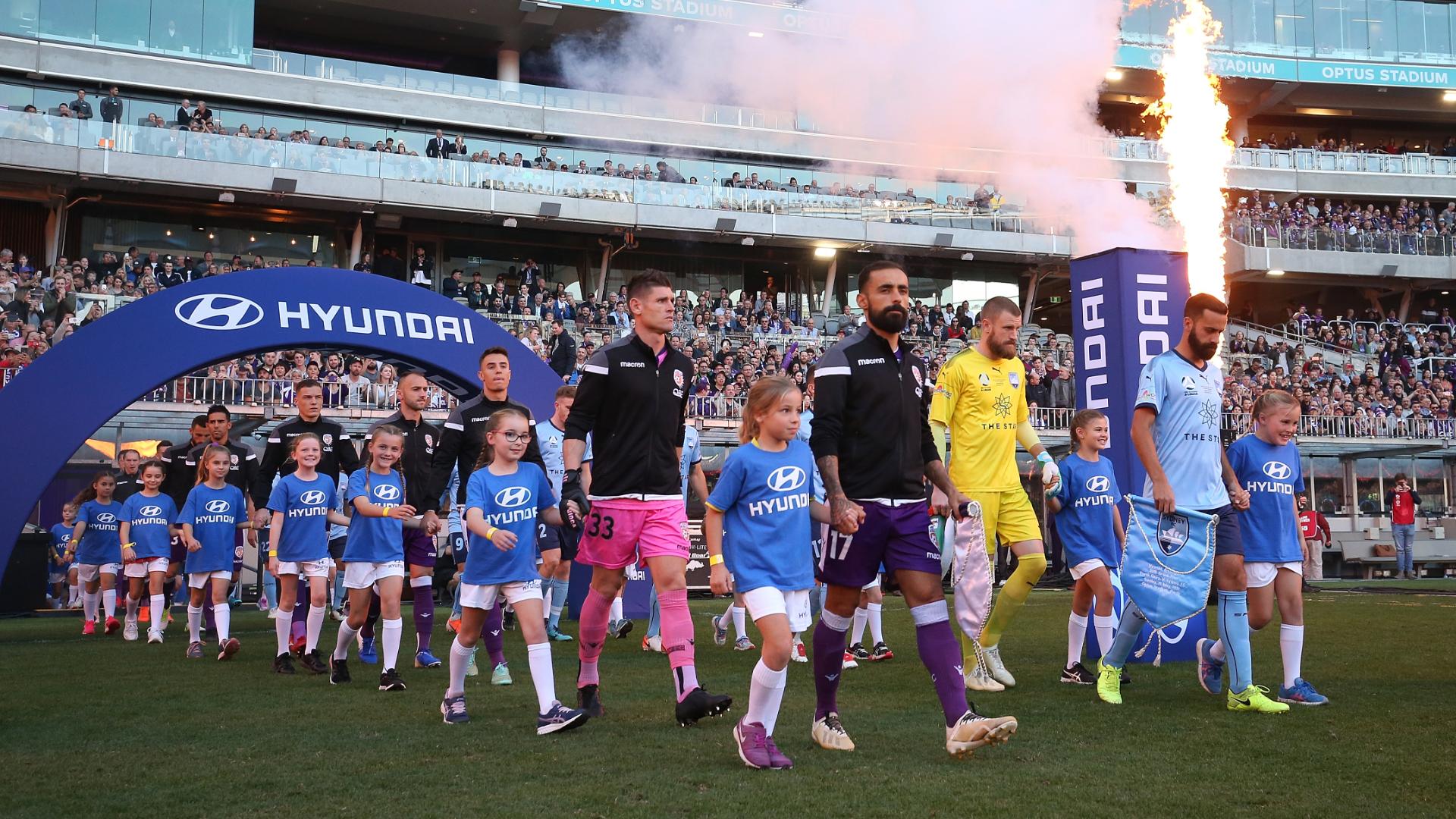 A-League Perth Glory Sydney FC