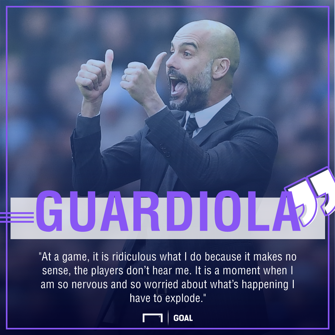 Pep Guardiola Manchester City no sense