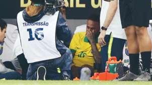 Neymar Brasil lesión