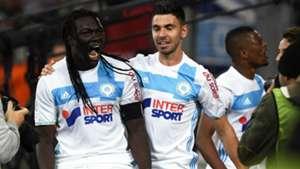 Bafetimbi Gomis Morgan Sanson Marseille Saint-Etienne Ligue 1 16042017