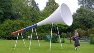 В парке «Сокольники» установят большую вувузелу