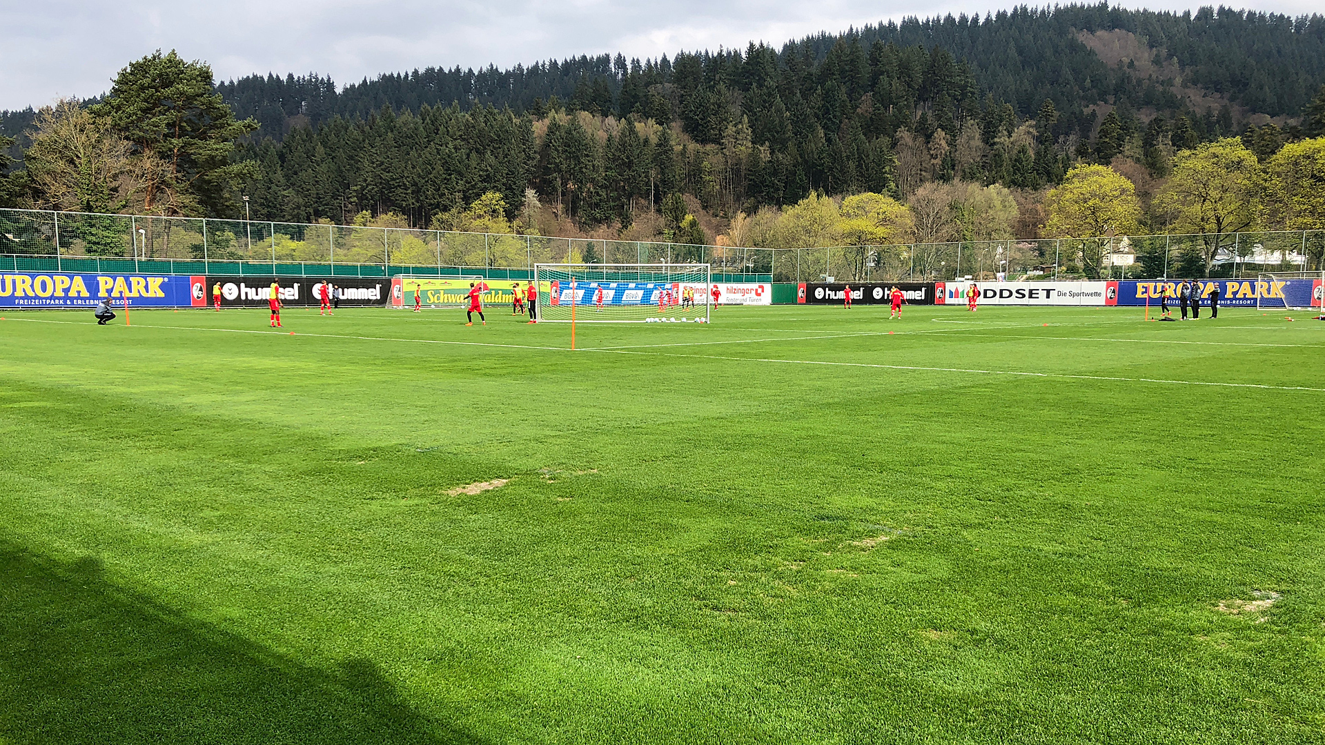 SC Freiburg Training