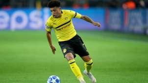 Jadon Sancho Borussia Dortmund Champions League 1018